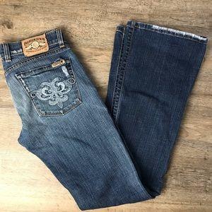 Lucky Brand Dark Wash Flare Jeans